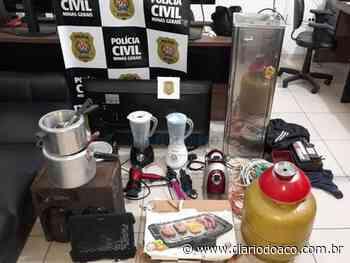 Autor de vários furtos é preso em Caratinga - Jornal Diário do Aço
