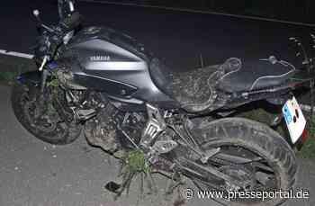 POL-ME: Bei illegalem Kraftfahrzeugrennen verunglückt - Velbert - 2106046 - Presseportal.de