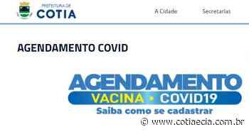 Cotia antecipa vacinação para pessoas com mais de 50 anos, mas site apresenta instabilidade - Cotia e Cia