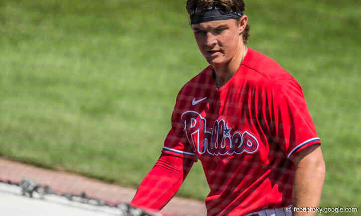 Mickey Moniak responds to Girardi's comments, sees himself as center fielder