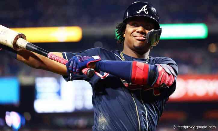 Ronald Acuña Jr. has monster night as Braves defeat Phillies