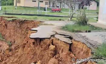 Deslizamentos ameaçam porto de Cruzeiro do Sul, denuncia Antônia Sales - ac24horas.com