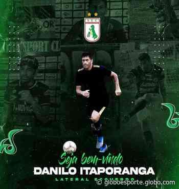 Danilo Itaporanga é anunciado como reforço do Sousa para a Série D do Brasileiro - globoesporte.com