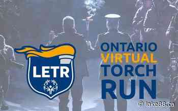 Smiths Falls Police Service exceeds goal with virtual torch run for Special Olympics - lake88.ca