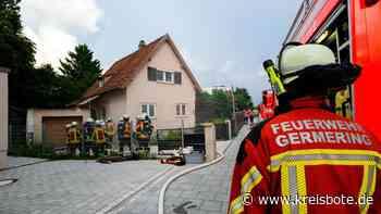 Freiwilliger Feuerwehr Germering übt in leerstehenden Gebäuden - kreisbote.de
