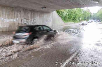 Kräftiges Unwetter rund um Ettlingen, Karlsbad und Bühl - die neue welle - die neue welle