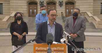 Saskatchewan NDP calls for residential schools compensation, apology from Scott Moe - Global News