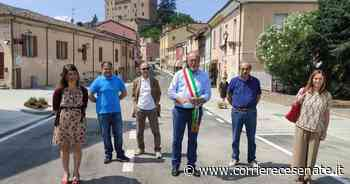 Longiano, finiti i lavori in via Borgo Fausto - Corriere Cesenate