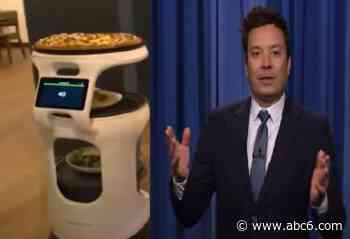 Cumberland pizza robot featured on The Tonight Show Starring Jimmy Fallon - WLNE-TV (ABC6)