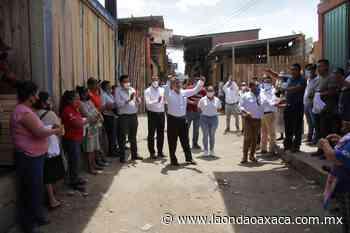 La colonia Arboledas se suma al proyecto de Francisco Martínez Neri - La Onda Oaxaca