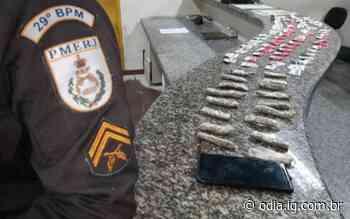 Bom Jesus do Itabapoana: Adolescente é apreendido com drogas durante ação do 29º BPM - Jornal O Dia