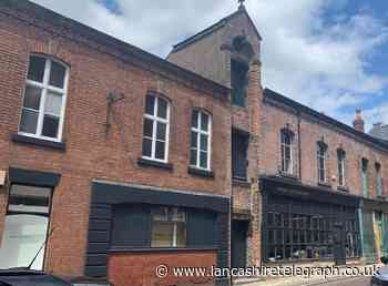 Victorian buildings now back as a creative hub