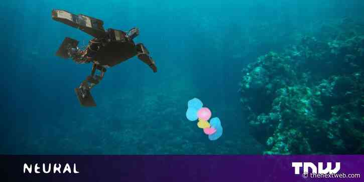Yo, plastic soup! These tiny swimming bots are coming to destroy you