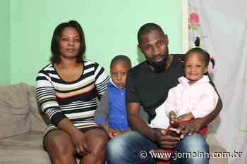 Família de haitianos se mobiliza para trazer filho à região - Jornal NH
