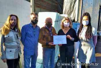 Hospital Municipal recebe doação insumos do Sindartcouro NH - Jornal NH
