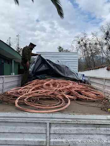 Roban cable del tendido eléctrico de línea férrea en San Fernando. - El Rancagüino