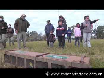 San Fernando participó de la liberación de un centenar de aves rescatadas en el Pueblo Nueva Esperanza - Zona Norte Diario Online