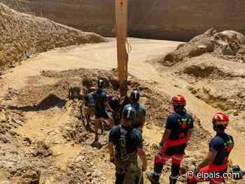 La Guardia Civil recupera el cuerpo sin vida del hombre sepultado en una cantera de Jaén - EL PAÍS
