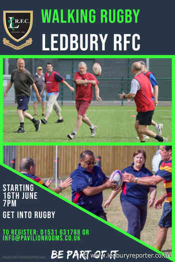 Free walking rugby sessions at Ledbury Rugby Club