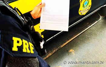 PRF em Pontes e Lacerda aborda condutor que possuía mandado de prisão em aberto - O Documento