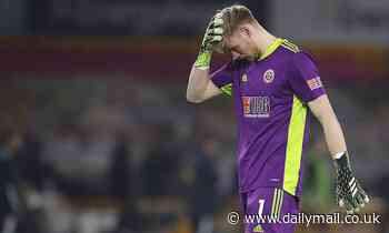 Tottenham interested in signing Sheffield United goalkeeper Aaron Ramsdale