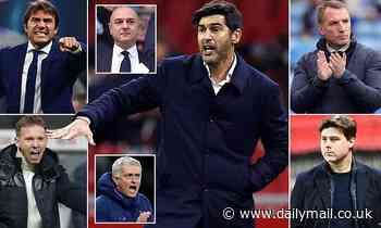 Desperate Tottenham are now chasing their SIXTH choice manager in Paulo Fonseca