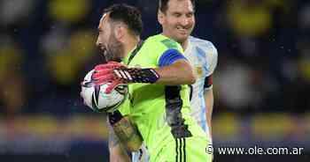 El partido de Messi: con la Ospina clavada - Olé
