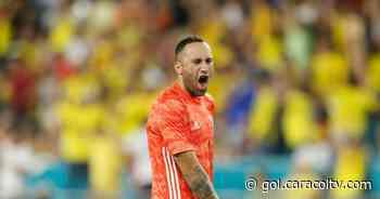 David Ospina, de palo a palo: acá su atajadota tras un tiro libre peligroso de Lionel Messi - Gol Caracol