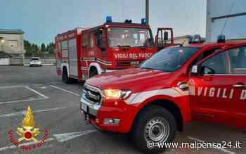 Venegono Superiore, incendio all'alba in un'azienda: va a fuoco un macchinario - malpensa24.it