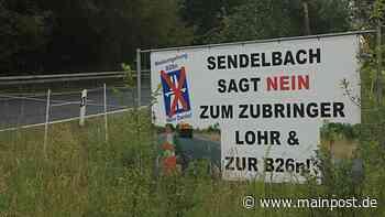 Lohr 09.06.2021 Menschenkette in Lohr gegen den Bau der B26n - Main-Post