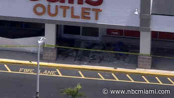 Partial Ceiling Collapse Closes Fort Lauderdale Shopping Center