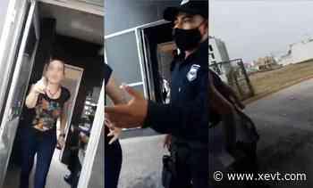 Mujer golpea a vigilante de un fraccionamiento en Villahermosa; la llaman Lady Country - XeVT 104.1 FM   Telereportaje