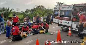 Accidente en la Chetumal-Villahermosa deja al menos 9 lesionados - Diario Presente