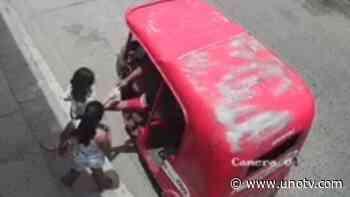 Captan a presunto pederasta tocando a dos niñas en Villahermosa, Tabasco - Uno TV Noticias