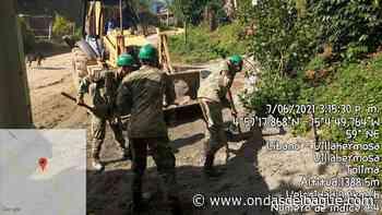 Soldados mejoran vias que mantenían incomunicados a campesinos de Villahermosa - Ondas de Ibagué