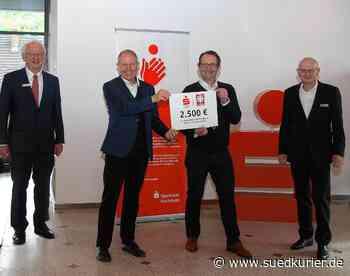 Waldshut-Tiengen: Sparkasse Hochrhein spendet 2500 Euro für den Caritasverband - SÜDKURIER Online