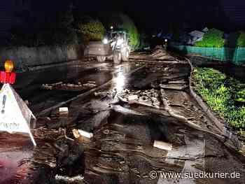 Waldshut-Tiengen: Unwetter hinterlässt Spur der Verwüstung in Waldshut-Tiengen - SÜDKURIER Online