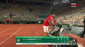 """Messias: """"Djokovic mostrou que está em busca do título"""" - Bol - Uol"""