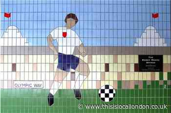 Brent Council and Quintain to keep Wembley mural on display