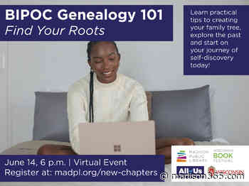 Find Your Roots with a Free BIPOC Genealogy 101 Workshop from Madison Public Library - madison365.com