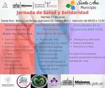Mañana viernes 11 se realizará una Jornada de Salud en Santa Ana - Ministerio de Salud Pública
