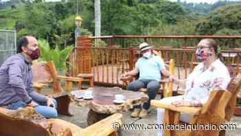 En Salento se trabaja para mejorar las vías veredales y desembotellar la localidad - La Cronica del Quindio