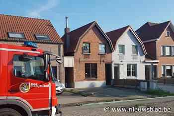 Aanzienlijke schade aan dak na kleine brand