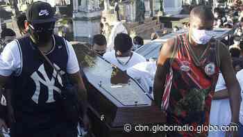 Grávida morta em tiroteio no Lins é enterrada no Rio de Janeiro - CBN