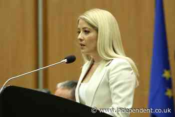 Cyprus elects its 1st-ever female parliament speaker