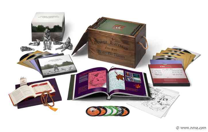 A colossal boxset reissue of George Harrison's 'All Things Must Pass' is on the way