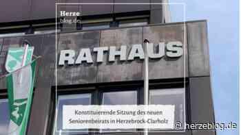 Konstituierende Sitzung des neuen Seniorenbeirats in Herzebrock-Clarholz - Herzeblog.de