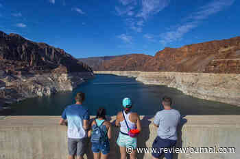 Lake Mead water level dips to record low