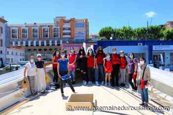 Port-Vendres : sortie patrimoine maritime pour la classe de catalan - La Semaine du Roussillon