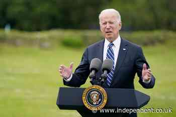 Biden vows US will be 'arsenal' of vaccines by donating 500m jabs to 100 countries